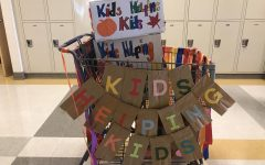 Kids helping kids — Food drive through the month of October