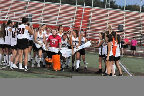 Varsity field hockey sweeps TJ for a win on senior night: Photo of the Day 10/2/17