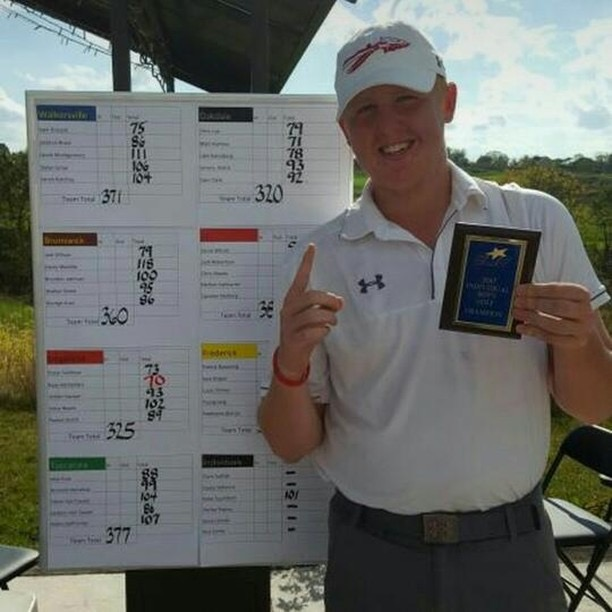 Lancer of the Week: McFadden takes a swing at high school golf