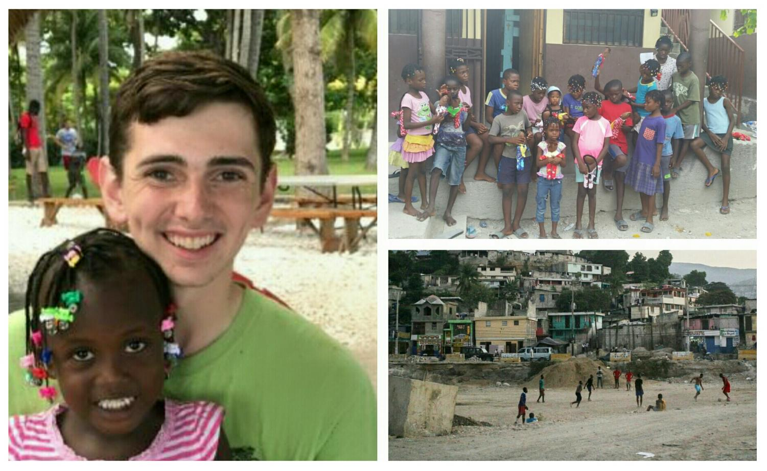 Bailey Davis volunteering with Life Connection Mission in Montrouis, Haiti