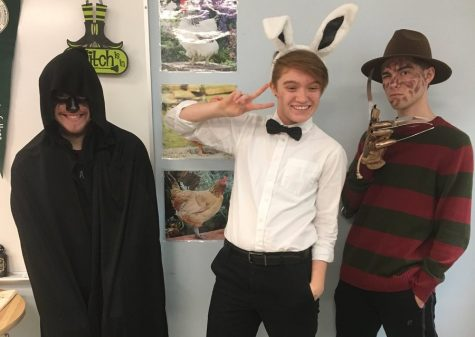Students take on 'Trick or Treat Tuesday': Photo of the Day 10/31/17
