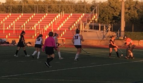 JV field hockey loses against Winters Mill at the Pink-Out game: Photo Of The Day 10/16/17