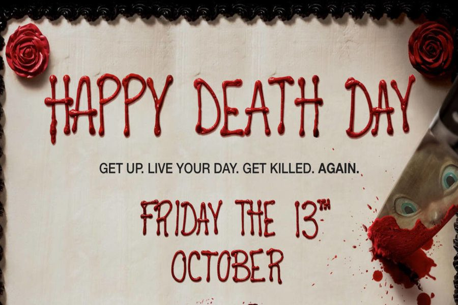 Advertisement for Happy Death Day.