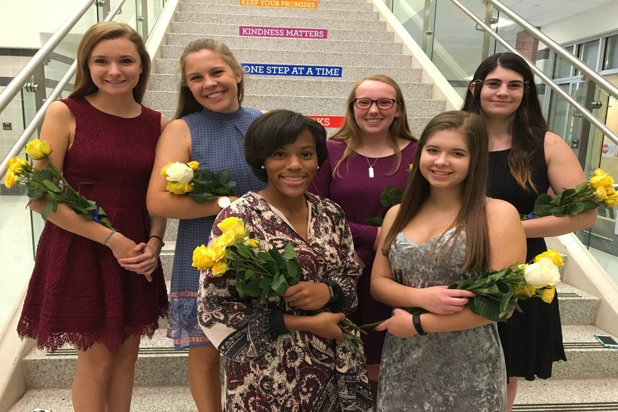 New National English Honor Society officers