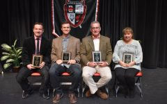 Four 2017 Distinguished Graduate honorees celebrated at assembly and luncheon