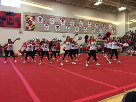 Pom and dance prepares for winter competition
