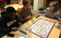 NEHS game night celebrates end of Term 1 with games and trivia:  Photo of the Day 11/8/17
