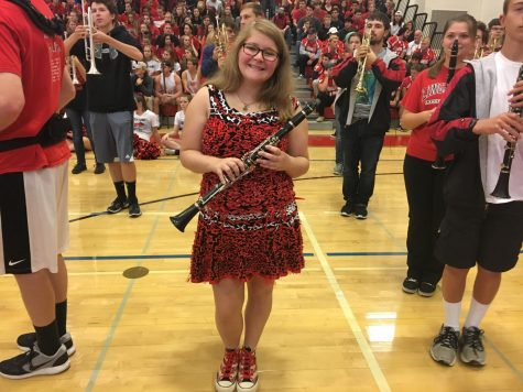 "Spirit week comes to a close with ""Red, Black and Bow Day"" : Photo of the Day 11/3/17"