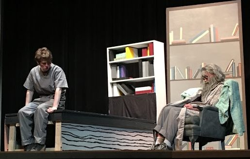 Joey Galetti and Christian Howard star in The Giver.