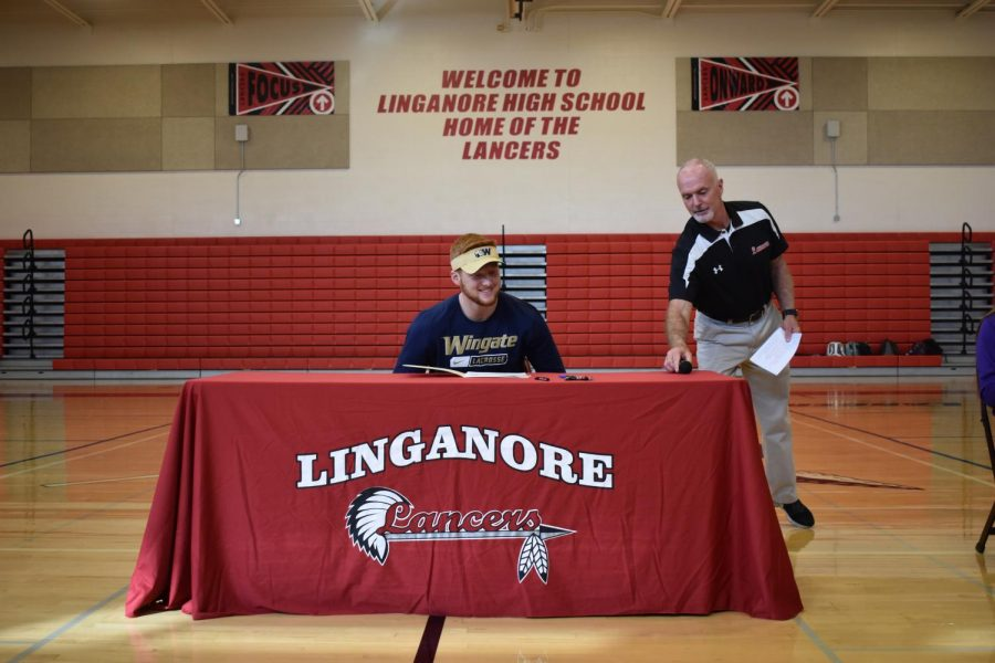 On the way to Wingate University: Tristan Drenner becomes a bulldog