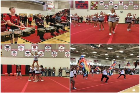 LHS Pep Rally ends Homecoming week on a high note