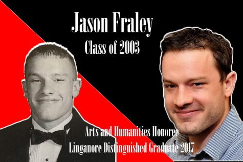 Distinguished Graduates 2017: Arts & Humantities awardee Jason Fraley recognized for journalism accomplishments