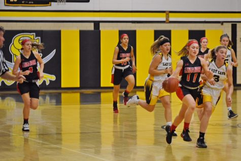 Varsity girls basketball victory over the Cavaleirs: Photo of the Day 12/6/17