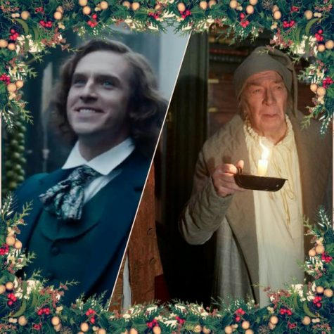"In the movie ""The Man Who Invented Christmas,"" Dickens battles and defeats his inner Scrooge"