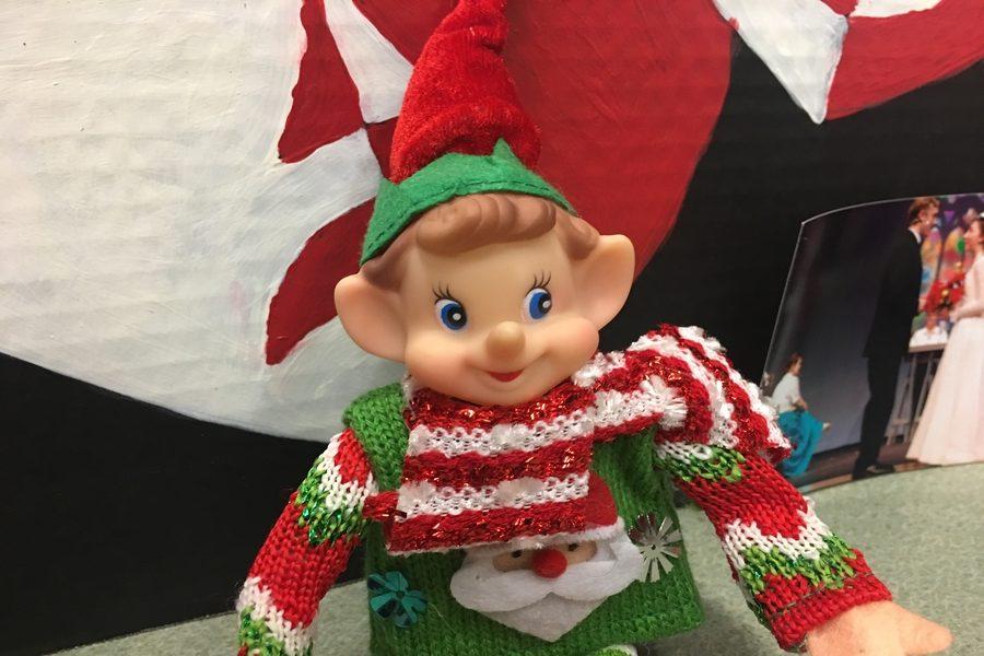 12/13/17: Where did Elfie take the selfie?