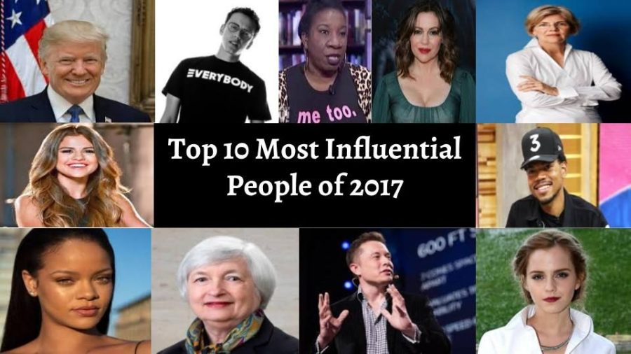Emily Webb's top 10 most influential people of 2017