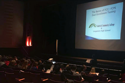 Juniors and sophomores learn about dual enrollment classes