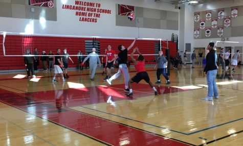 SSL students play volleyball for Learning for Life program: Photo of the Day 1/18/18