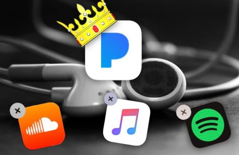 Pandora takes the throne of all music apps.