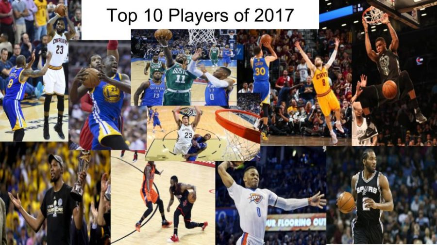Jason Byrd's top 10 NBA players of 2017