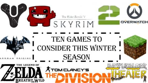 Tyler Roman's Top 10 recommended games for the winter blues