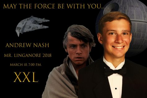 Andrew Nash has the force to help him win Mr. Linganore