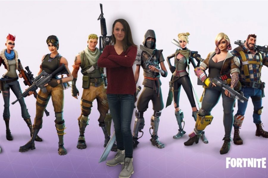 Bridget Murphy and the rest of the Fortnite characters are prepared for battle.