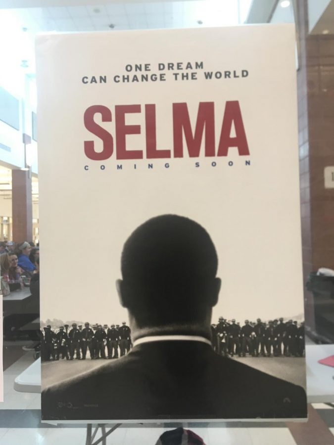 The movie poster for Selma.