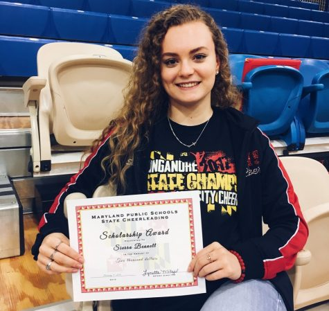 Sierra Bennett wins Maryland public schools state cheerleading scholarship: Photo of the Day 2/21/18
