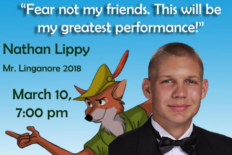 Nathan Lippy is ready for his greatest performance at Mr. LHS