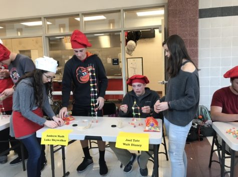 Mr. Linganore contestants engineer success in gumdrop tower building competition