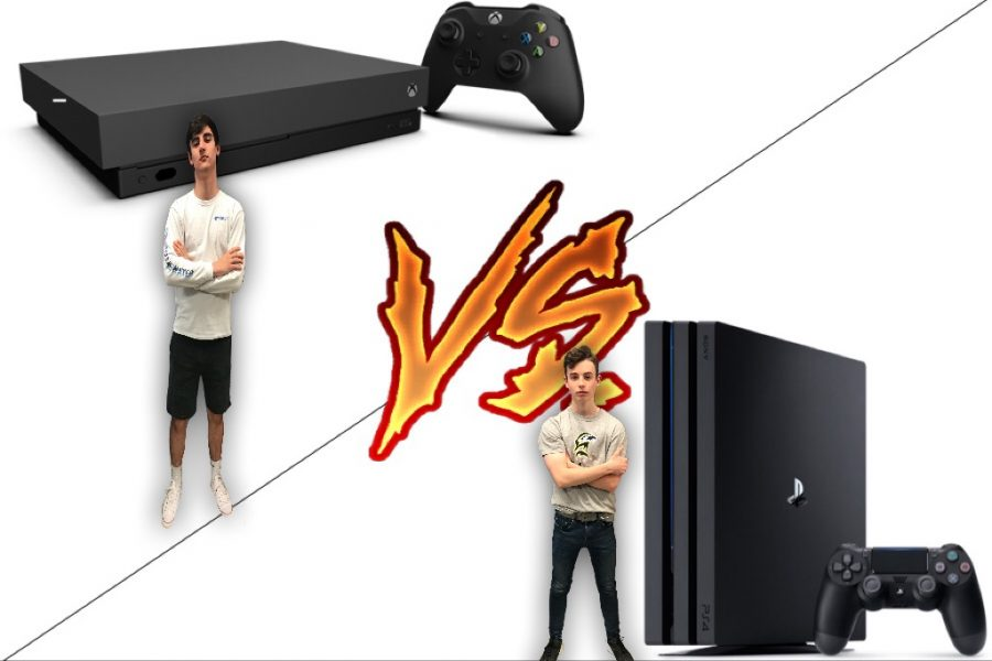 Editors Ethan Hart and Jacob Bolger go head to head in this console war