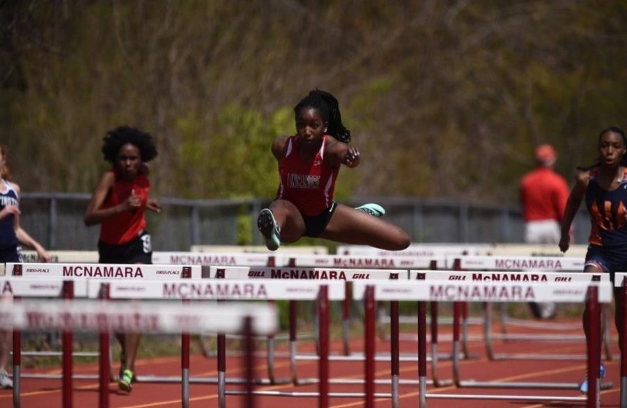 Track and Field competes at  McNamara Mustangs Invitational: Photo of the day 4/22/18