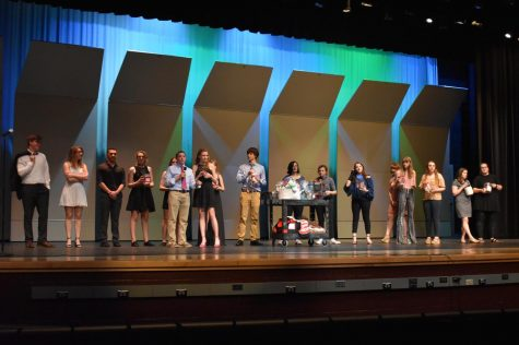 Annual NHS Talent Show contestants perform to fight against cancer: Photo of the Day 5/4/18