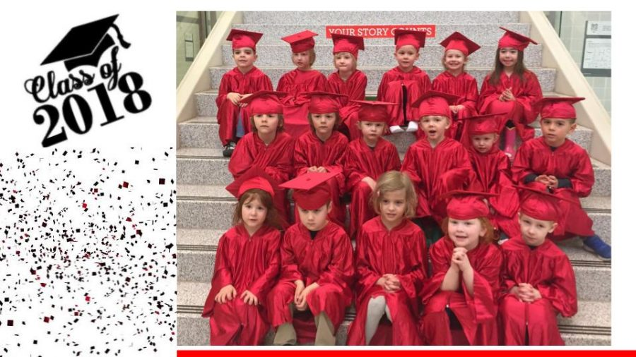 All+17+Little+Lancers+pose+for+graduation+day.+