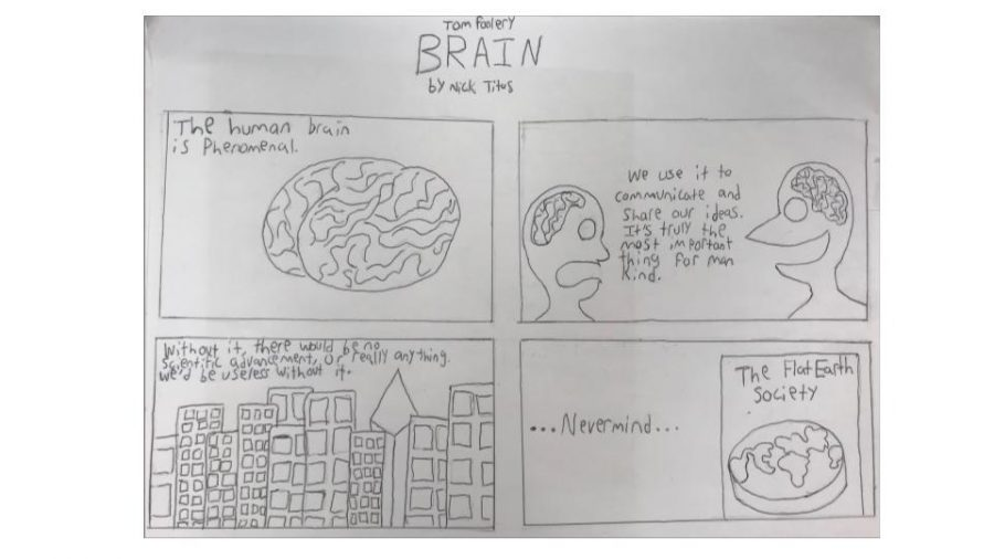 Tomfoolery: Brain