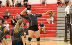 Varsity volleyball loses to Chambersburg