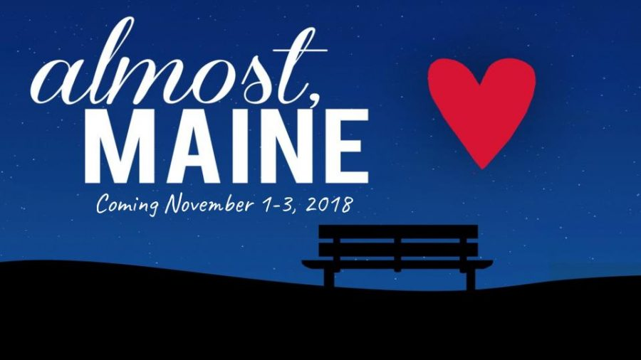 The cover of the 2018 fall play, Almost, Maine.