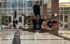 Poms prepare dance for Pep Rally: Photo of the Day 9/28/18