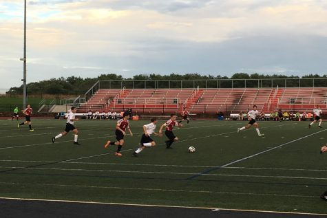 Linganore JV soccer downed 2-0 in a tough game against Oakdale: Photo of the Day 9/25/18