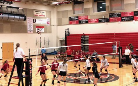 Linganore v. Oakdale: Volleyball loses to rivals