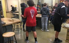 Students are expanding to bigger things in woodworking