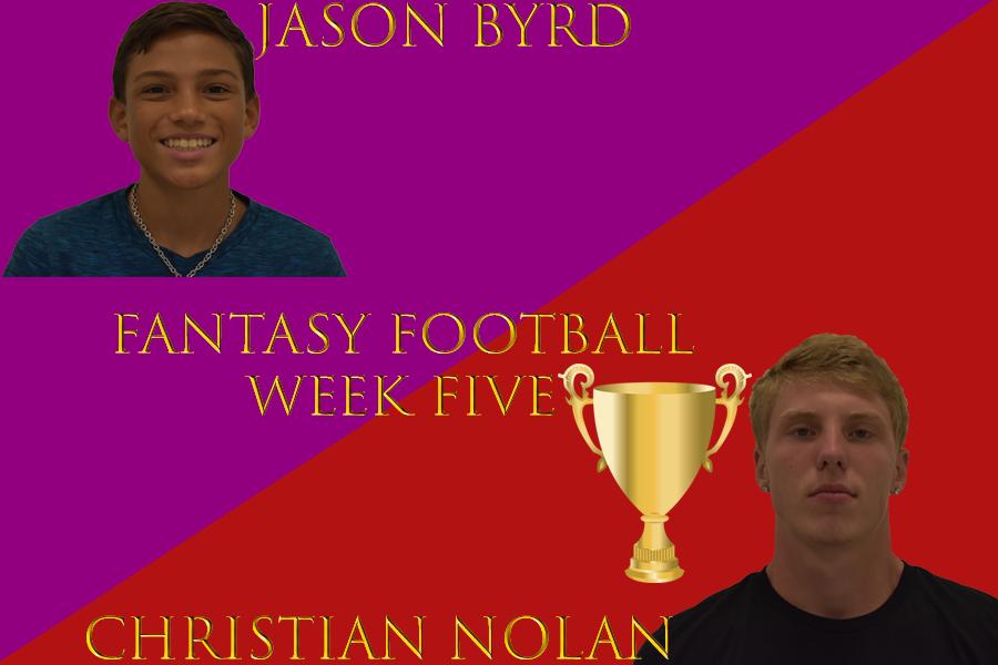 Journalism Fantasy Football: Team Nolan beats Byrd Week 5