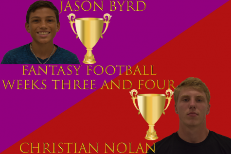 Journalism Fantasy Football: Nolan and Byrd remain tied after Weeks 3 and 4