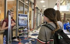 College and career fair at lunch helps students plan for future: Photo of the Day 10/4/18