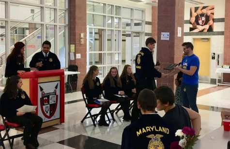 FFA Food for America program brings agriculture to elementary students