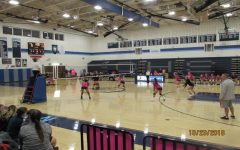 JV Volleyball loses hard-fought match against Catoctin