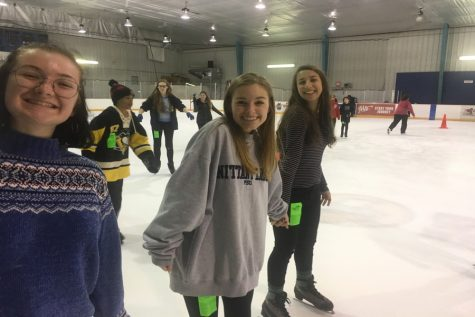 Drama Club takes the ice: Photo of the Day 10/21/18