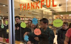 Learning Commons invites students to share what they are thankful for