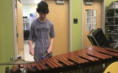Percussionists audition for All-County: Photo of the Day 11/21/18